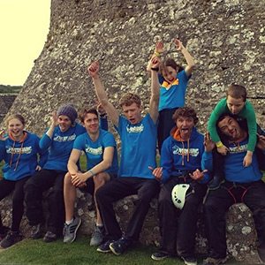 Charity Abseil at Pembroke Castle with the Overhang