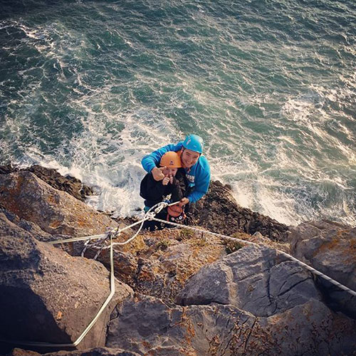 Outdoor Climbing in Pembrokeshire