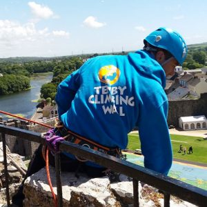Overhang Charity Abseil