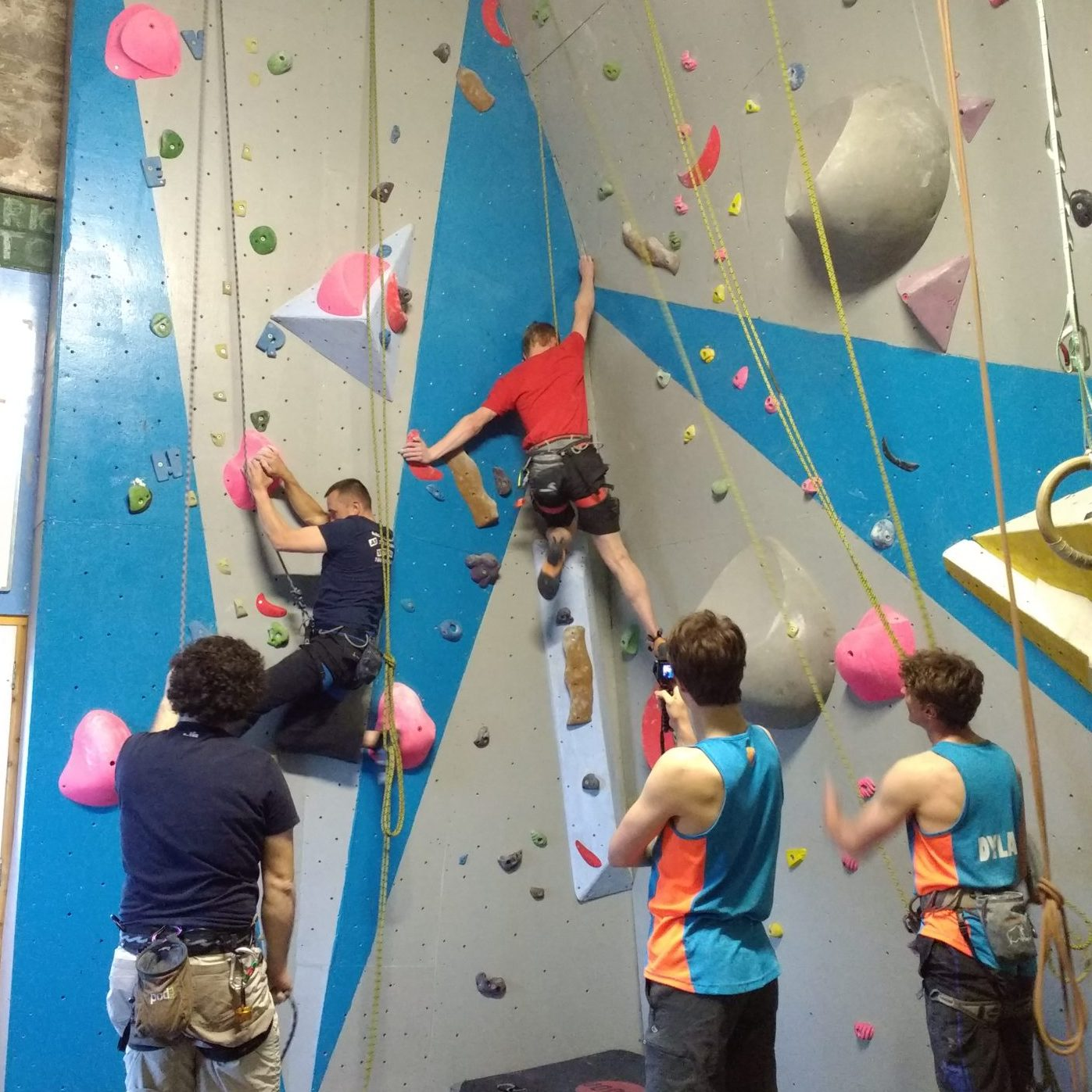 Indoor Climbing in Pembrokeshire Adult Club Tenby